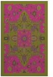 rug #1281959 |  light-green traditional rug