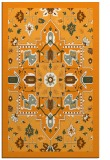 rug #1281971 |  light-orange borders rug
