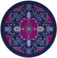rug #1282015 | round pink borders rug