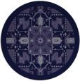 rug #1282063   round blue-violet rug