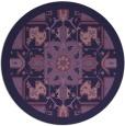 rug #1282075 | round damask rug