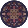 rug #1282083 | round beige borders rug