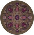 rug #1282085 | round damask rug