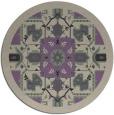 rug #1282167 | round beige damask rug