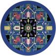 rug #1282183 | round black borders rug