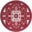 rug #1282213 | round damask rug