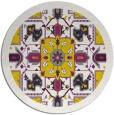 rug #1282308 | round damask rug