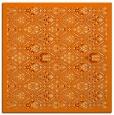 rug #1282715   square orange traditional rug