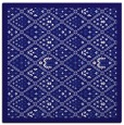 rug #1282815 | square blue-violet damask rug