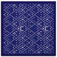 rug #1282815 | square blue-violet borders rug