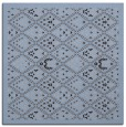 rug #1282823 | square blue-violet damask rug