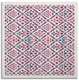 rug #1282831 | square red borders rug
