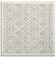 rug #1282879 | square mid-brown borders rug