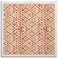 rug #1282931 | square orange borders rug