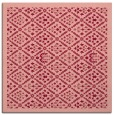 rug #1282951 | square pink traditional rug