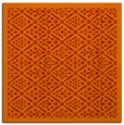 rug #1282979   square orange borders rug