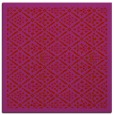 rug #1282987 | square red traditional rug