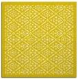 rug #1283011 | square white borders rug