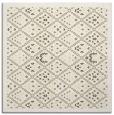 rug #1283039 | square yellow damask rug