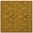 rug #1283047   square light-orange borders rug