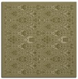 rug #1283067 | square light-green borders rug