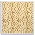 rug #1283071 | square light-orange traditional rug