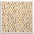 rug #1283079 | square light-orange borders rug