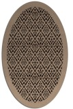rug #1283095 | oval black borders rug