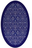 rug #1283185 | oval borders rug