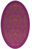 rug #1283256 | oval borders rug