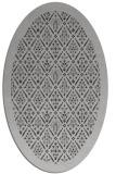 rug #1283307 | oval orange traditional rug