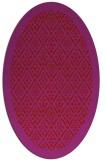 rug #1283355 | oval red popular rug