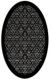 rug #1283375   oval black borders rug