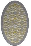 rug #1283414 | oval borders rug