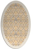 rug #1283447 | oval white borders rug