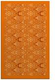 rug #1283451    orange borders rug