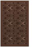 rug #1283467 |  brown damask rug