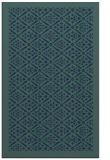 rug #1283491 |  blue-green traditional rug