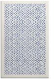 rug #1283499 |  blue damask rug