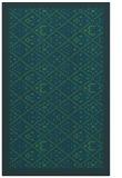rug #1283515 |  blue traditional rug