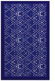 rug #1283551 |  blue-violet damask rug