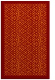 rug #1283663 |  red-orange traditional rug