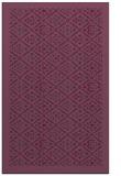 rug #1283695 |  purple damask rug
