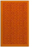 rug #1283715 |  orange borders rug