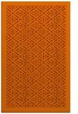 rug #1283727 |  red-orange traditional rug