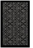 rug #1283743 |  white damask rug