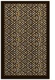 rug #1283755 |  brown traditional rug
