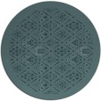 rug #1283892 | round damask rug