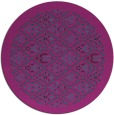 rug #1283899   round pink traditional rug