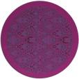 rug #1283899 | round blue-green borders rug